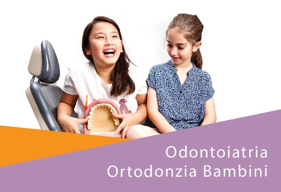 Odontoiatria ortodonzia bambini
